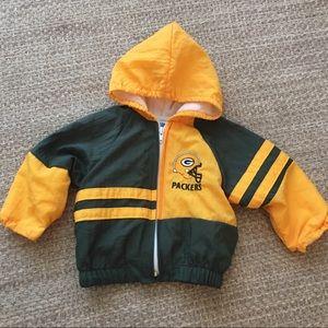 Vintage 90s NFL Green Bay Packers Jacket 12M